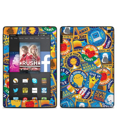 Amazon Kindle Fire HD 7in 2014 Skin - Eff Right Off