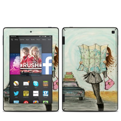 Amazon Kindle Fire HD 7in 2014 Skin - Getting There