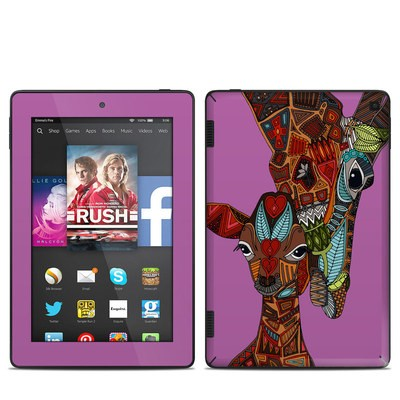 Amazon Kindle Fire HD 7in 2014 Skin - Giraffe Love