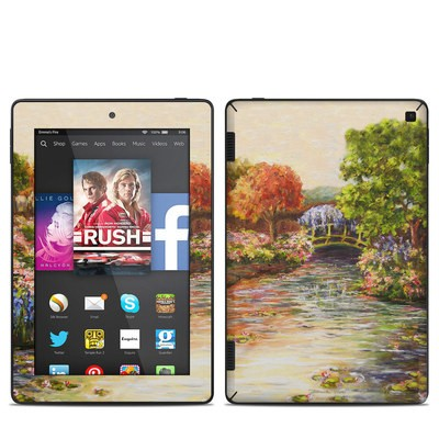 Amazon Kindle Fire HD 7in 2014 Skin - Giverny Forever