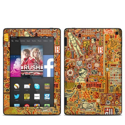 Amazon Kindle Fire HD 7in 2014 Skin - The Golding Time