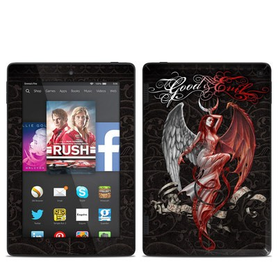 Amazon Kindle Fire HD 7in 2014 Skin - Good and Evil