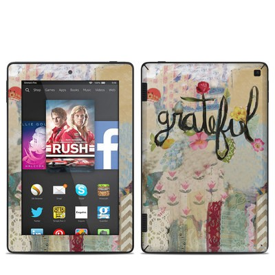 Amazon Kindle Fire HD 7in 2014 Skin - Grateful