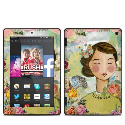 Amazon Kindle Fire HD 7in 2014 Skin - Grateful Soul