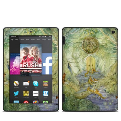 Amazon Kindle Fire HD 7in 2014 Skin - Green Gate