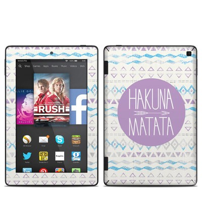 Amazon Kindle Fire HD 7in 2014 Skin - Hakuna Matata