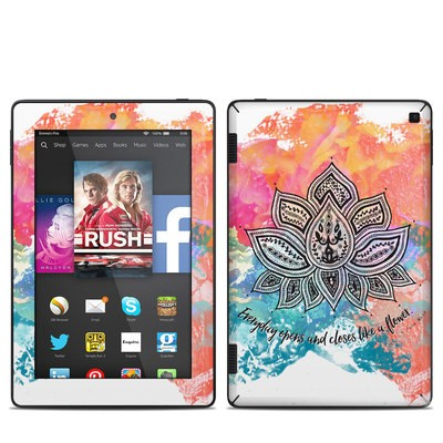 Amazon Kindle Fire HD 7in 2014 Skin - Happy Lotus
