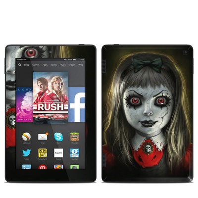 Amazon Kindle Fire HD 7in 2014 Skin - Haunted Doll