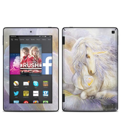 Amazon Kindle Fire HD 7in 2014 Skin - Heart Of Unicorn