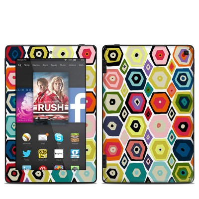 Amazon Kindle Fire HD 7in 2014 Skin - Hex Diamond