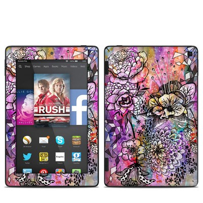 Amazon Kindle Fire HD 7in 2014 Skin - Hot House Flowers