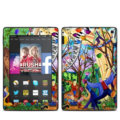 Amazon Kindle Fire HD 7in 2014 Skin - Happy Town Celebration