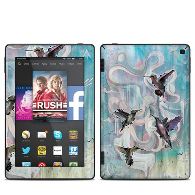 Amazon Kindle Fire HD 7in 2014 Skin - Hummingbirds