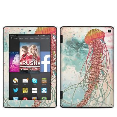 Amazon Kindle Fire HD 7in 2014 Skin - Jellyfish