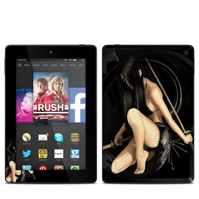 Amazon Kindle Fire HD 7in 2014 Skin - Josei 2 Dark