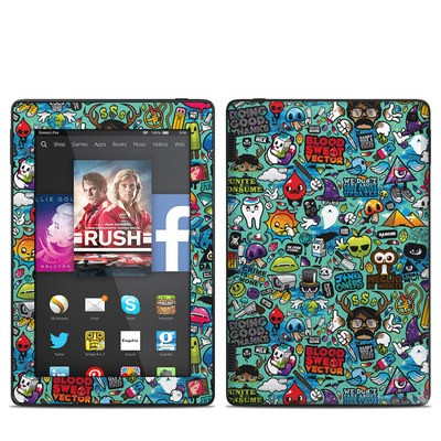 Amazon Kindle Fire HD 7in 2014 Skin - Jewel Thief
