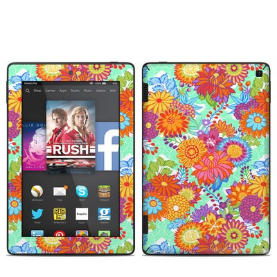 Amazon Kindle Fire HD 7in 2014 Skin - Jubilee Blooms