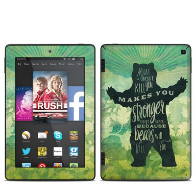 Amazon Kindle Fire HD 7in 2014 Skin - What Doesnt Kill You