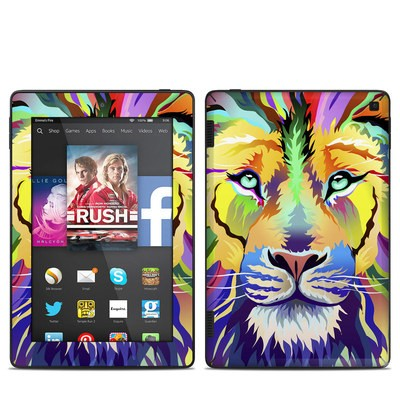 Amazon Kindle Fire HD 7in 2014 Skin - King of Technicolor