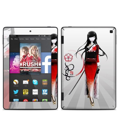 Amazon Kindle Fire HD 7in 2014 Skin - Kokeshi