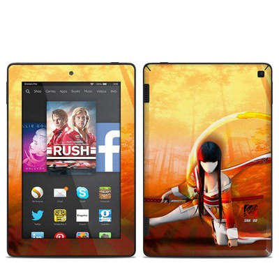 Amazon Kindle Fire HD 7in 2014 Skin - Kokeshi 4