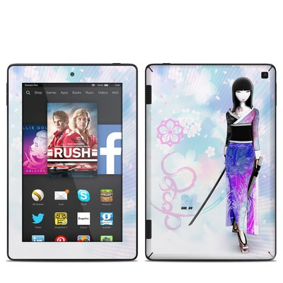 Amazon Kindle Fire HD 7in 2014 Skin - Kokeshi Haru