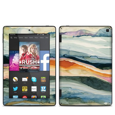 Amazon Kindle Fire HD 7in 2014 Skin - Layered Earth