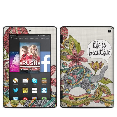 Amazon Kindle Fire HD 7in 2014 Skin - Life is Beautiful