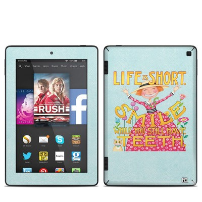 Amazon Kindle Fire HD 7in 2014 Skin - Life is Short