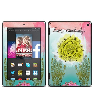 Amazon Kindle Fire HD 7in 2014 Skin - Live Creative