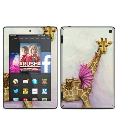 Amazon Kindle Fire HD 7in 2014 Skin - Lounge Giraffe