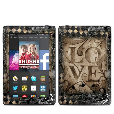 Amazon Kindle Fire HD 7in 2014 Skin - Love's Embrace