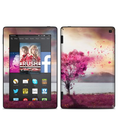 Amazon Kindle Fire HD 7in 2014 Skin - Love Tree