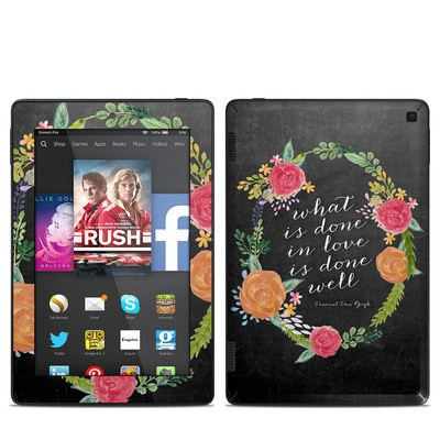 Amazon Kindle Fire HD 7in 2014 Skin - Love Done Well