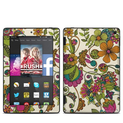 Amazon Kindle Fire HD 7in 2014 Skin - Maia Flowers