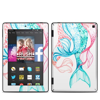 Amazon Kindle Fire HD 7in 2014 Skin - Mermaid Tails