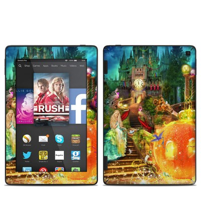 Amazon Kindle Fire HD 7in 2014 Skin - Midnight Fairytale