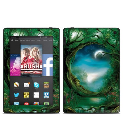 Amazon Kindle Fire HD 7in 2014 Skin - Moon Tree