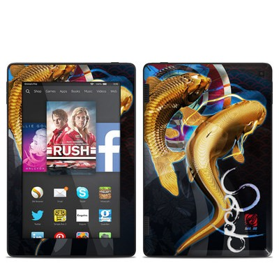 Amazon Kindle Fire HD 7in 2014 Skin - Namazu and Koi
