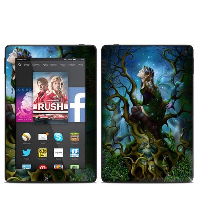 Amazon Kindle Fire HD 7in 2014 Skin - Nightshade Fairy