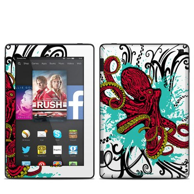 Amazon Kindle Fire HD 7in 2014 Skin - Octopus
