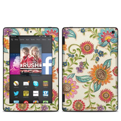 Amazon Kindle Fire HD 7in 2014 Skin - Olivia's Garden