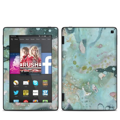 Amazon Kindle Fire HD 7in 2014 Skin - Organic In Blue