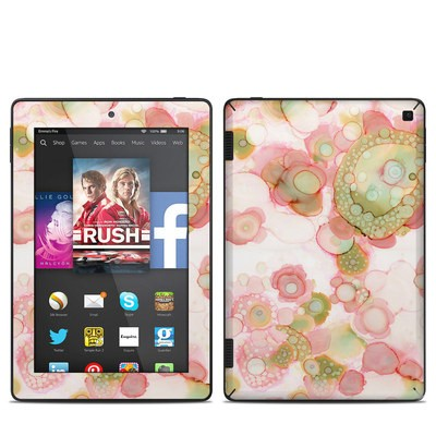 Amazon Kindle Fire HD 7in 2014 Skin - Organic In Pink