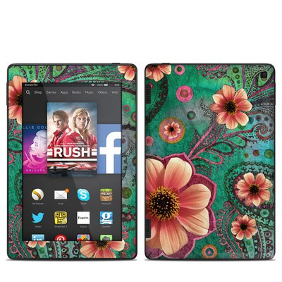 Amazon Kindle Fire HD 7in 2014 Skin - Paisley Paradise