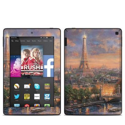 Amazon Kindle Fire HD 7in 2014 Skin - Paris City of Love