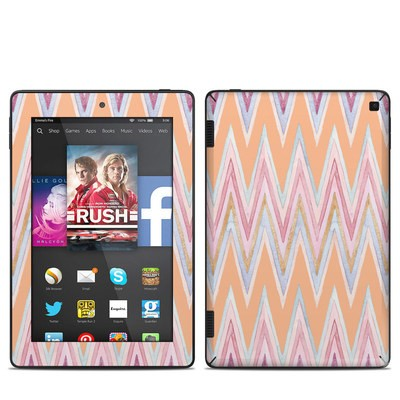 Amazon Kindle Fire HD 7in 2014 Skin - Pastel Chevron