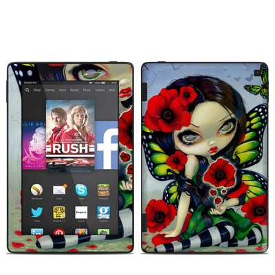 Amazon Kindle Fire HD 7in 2014 Skin - Poppy Magic