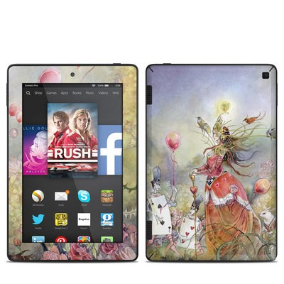 Amazon Kindle Fire HD 7in 2014 Skin - Queen of Hearts