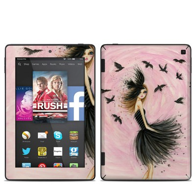 Amazon Kindle Fire HD 7in 2014 Skin - Raven Haired Beauty